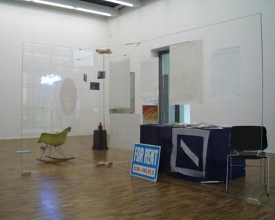 Ausstellungsansicht, ONTOM, 1998, GfZK Leipzig, Foto: Hans-Christian Schink
