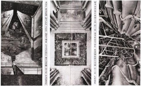 Marcel Odenbach: Auf Euch will ich meine Kirche bauen, 1990