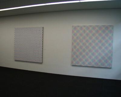 Ausstellungsansicht, Horst Bartnig. Arbeiten aus den Jahren 1968-1998, 1999, GfZK Leipzig, Foto: Hans-Christian Schink
