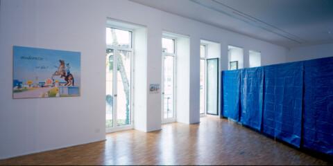 Ausstellungsansicht, Johanna Kandl, 2002, GfZK Leipzig, Foto: Hans-Christian Schink