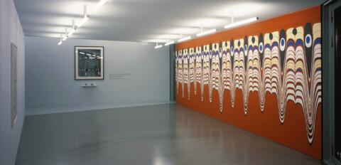 Ausstellungsansicht, Die Zukunft ist nicht, was sie einmal war, 2004, GfZK Leipzig, Foto: Andreas Enrico Grunert