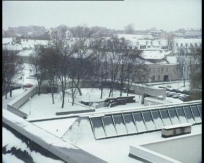 "Deimantas Narkevičius ""Scena"", Super 8 film, transferred onto DVD, 10 min., 2003"