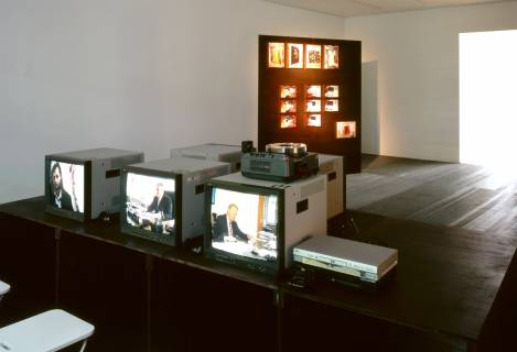 Marion Porten: Versuch einer Präsentation. Gespräche mit Sammlern, Förderern und einem Künstler (vorerst), 2007. Foto: Andreas Enrico Grunert