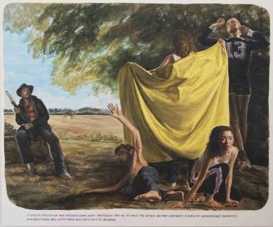 """""""Untitled (It was as though...)"""", 2006, Öl auf Leinwand"""