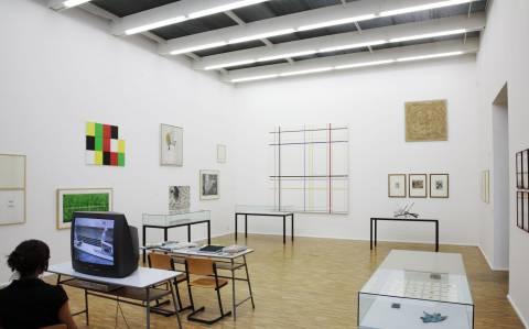 Ausstellungsansicht, Foto: Andreas Enrico Grunert