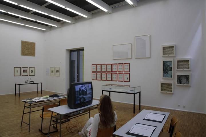 Fischli/Weiss, Hanne Darboven u. a.; Fotograf: A. E. Grunert