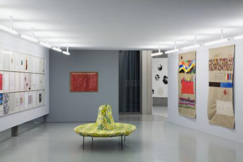 Ausstellungsansicht, Gedichte der Fakten, 2008, GfZK Leipzig, Foto: Andreas Enrico Grunert