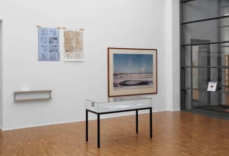 Laurent Benner, 2008 Ausstellungsansicht. Foto: Carsten Humme