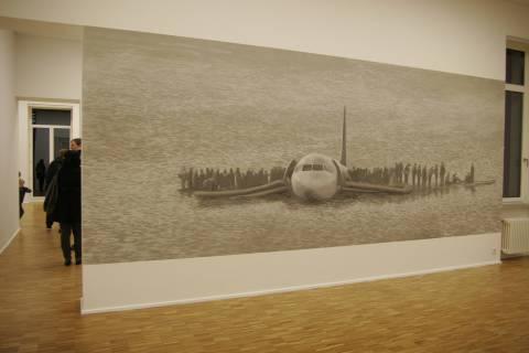 Ausstellungsansicht, Raum 107, 2010, GfZK Leipzig, Foto: Andreas Enrico Grunert