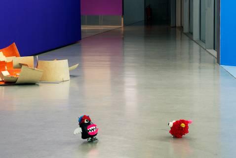 Puzzle und die Ergebnisse eines Workshops mit Kindern und Jugendlichen. Foto: Sebastian Schröder