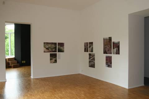 Ausstellungsansicht, atelier le balto >Der Garten als Ausdrucksform< , 2010, GfZK Leipzig, Foto: Andreas Enrico Grunert