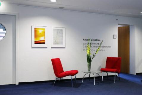 Ausstellungsansicht, GfZK on tour, 2010/2011, Foto: Andreas Enrico Grunert