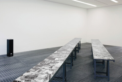 Ausstellungsansicht, Raum 107, 2010/2011, GfZK Leipzig, Foto: Stephanie Kiwitt