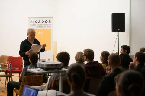 Auditorium, Foto: Andreas Lamm für Picador Guest Professorship