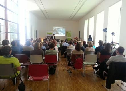 Auditorium, Foto für die Heinrich-Böll- Stiftung Sachsen