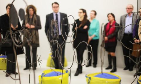 Ausstellungseröffnung Ars Viva, 2016
