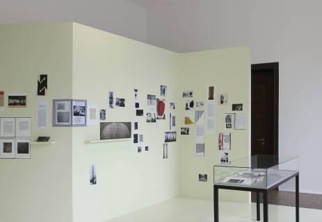 Textiles Open Letter, GfZK 2012. Installationsansicht. Foto: Andreas Schulze