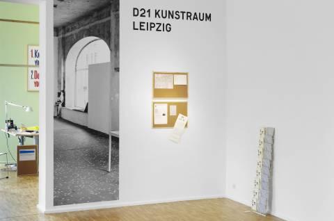 D21 Kunstraum Leipzig, 2012. Foto: Sebastian Schröder
