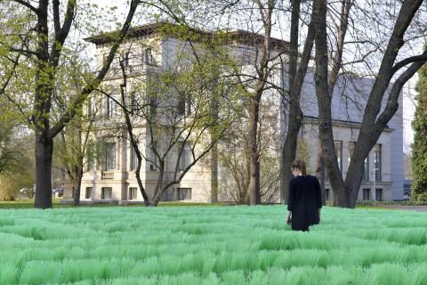 Olaf Nicolai, Labyrinth. Galerie für Zeitgenössische Kunst, Außenansicht, Foto_Sebastian Schröder