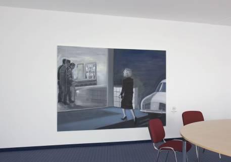 Verena Landau: access 01, 2006. Foto: Andreas Schulze