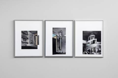 Iris Touliatou: GFZK 2012. Installationsansicht. Foto: Sebastian Schröder