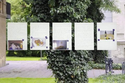 Cristina David: Time Travel Diary, 2010. Foto: Sebastian Schröder
