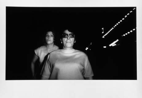 Erasmus Schröter: Frau mit dunkler Brille, 1981. Foto: Erasmus Schröter
