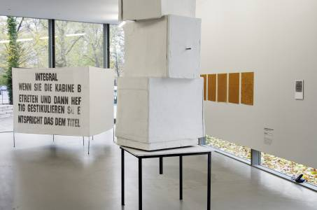 Franz West: Integral (Paravent), 1997. Foto: Sebastian Schröder