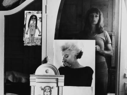 Helga Paris: Selbst im Spiegel, 1971.