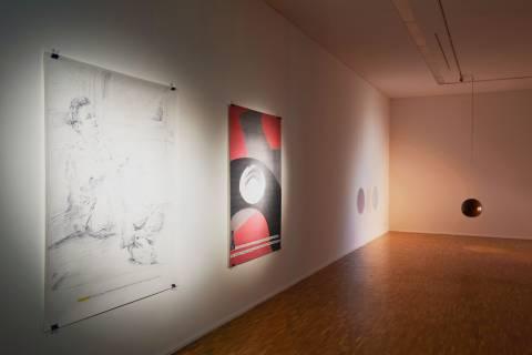 03 Nachbilder. GFZK, 2013. Ausstellungsansicht. Foto Sebastian Schröder