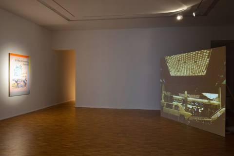 Nachbilder. GFZK, 2013. Ausstellungsansicht. Foto: Sebastian Schröder