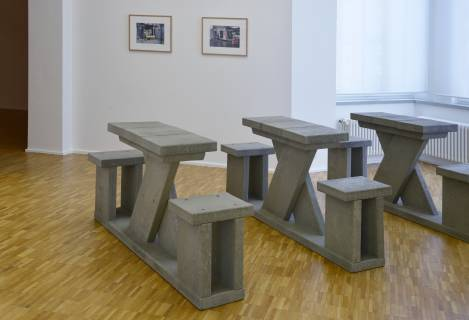 Dan Peterman: Running Table, 1997. Foto: Sebastian Schröder