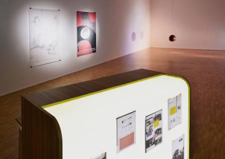 Nachbilder. GFZK, 2013. Ausstellungsansicht. Foto Sebastian Schröder