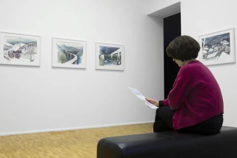 Ausstellungsansicht. Foto: Luise Schröder
