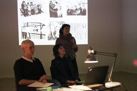 Victoria Lomasko: Regenbogenmenschen (und Ohne Titel), 2012