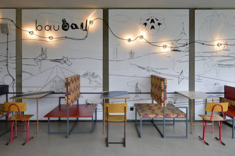 Céline Condorelli: Café bau bau, 2014. Foto: Sebastian Schröder