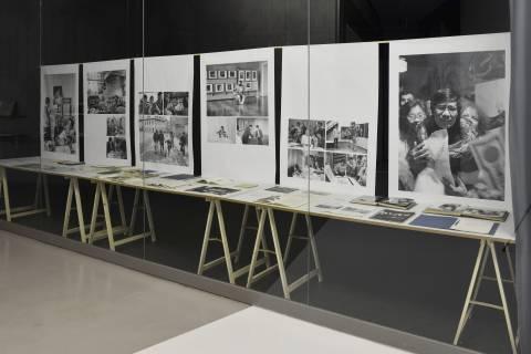 Archiv mit Fotografien von Helfried Strauß, Gestaltung Philipp Paulsen und Kay Bachmann 2014. Foto Sebastian Schröder