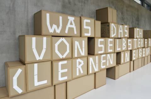 Leila Tabassomi, Gestaltung 2014. Foto: Sebastian Schröder