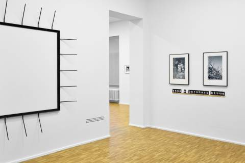 Sammlungsalphabet. GfZK, 2015. Ausstellungsansicht. Foto: Sebastian Schröder