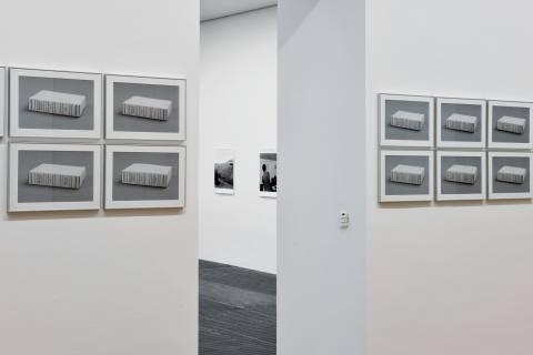 Sedimente von Wirklichkeit, GfZK, 2015. Ausstellungsansicht. Foto: Sebastian Schröder