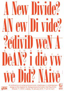 a new divide poster