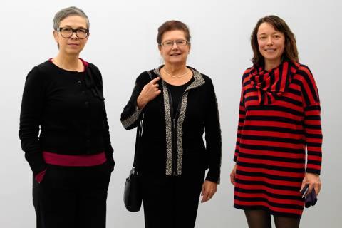 Dr. Barbara Steiner, Dr. Jutta Werner und Franciska Zólyom