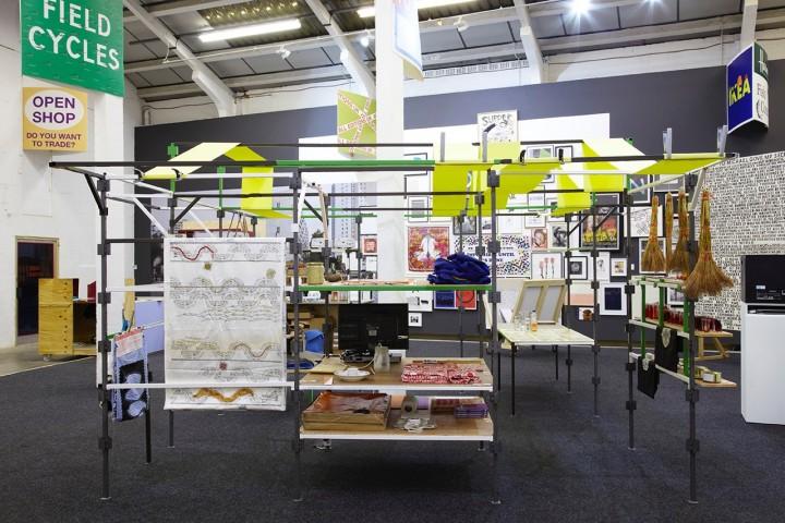 International Village Shop, Myvillages, as part of Trade Show, Eastside Projects, Birmingham, UK Dec 2013 Photo: Stuart Whipps