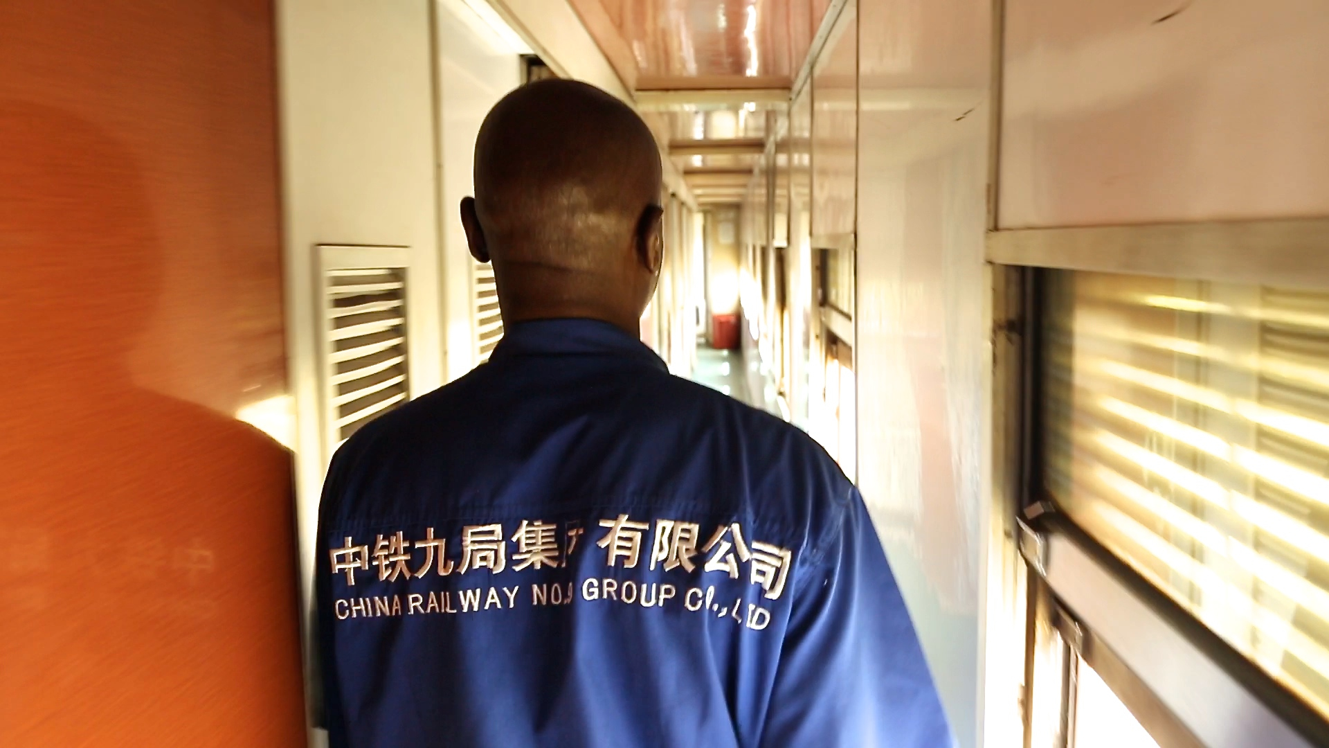 Recherchefoto: In a Tazara train, Daniel Kötter
