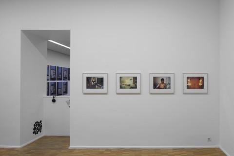Griffelkunst, The Present Order, Ausstellungsansicht, Foto: Wenzel Stählin
