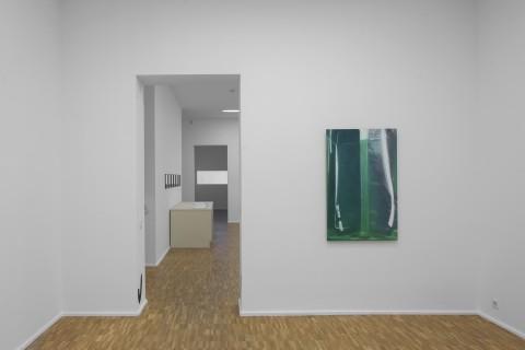 Julia Schmidt, Untitled (Purell), 2017, The Present Order, Ausstellungsansicht, Foto: Wenzel Stählin