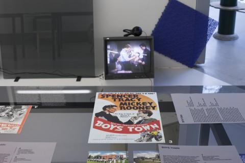 Gaudiopolis - Versuch einer guten Gesellschaft, Ausstellungsansicht, ©Galerie für Zeitgenössische Kunst