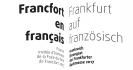 Logo Francfort en français