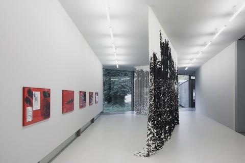 Céline Condorelli, wall to wall, Ausstellungsfoto Räume der Kunst 2