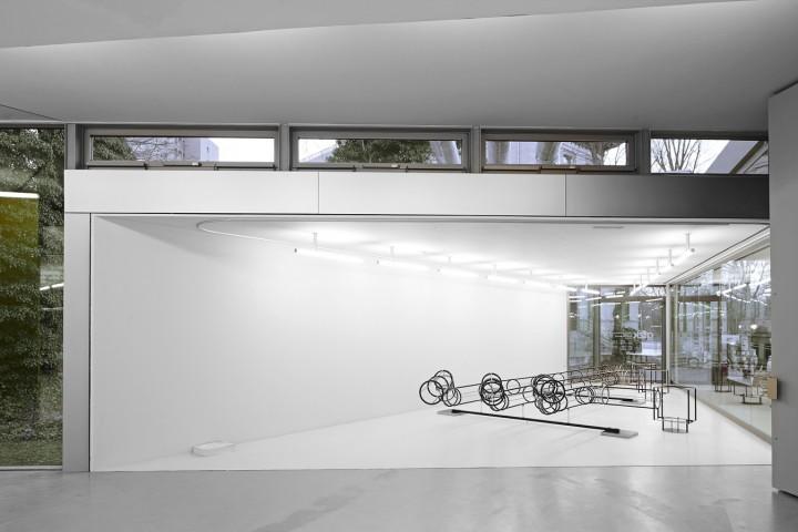 Lars Bergmann: Neubau, 2017. Ausstellungsansicht